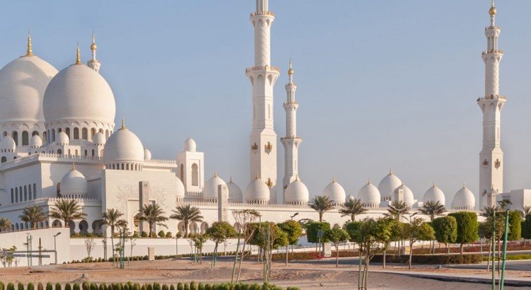 Exploring UAE with MSC cruises - Sheikh Zayed Grand Mosque