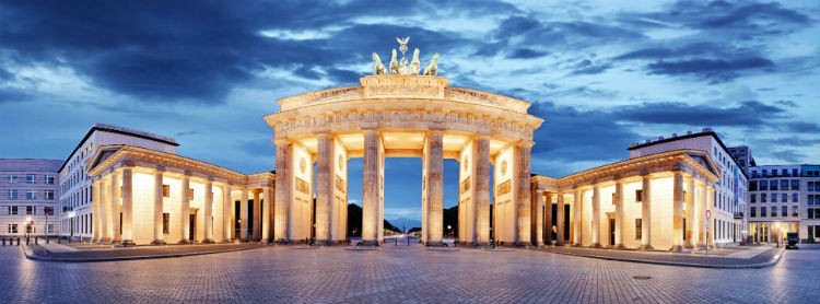 An architectural tour of Berlin - Brandenberg Gate