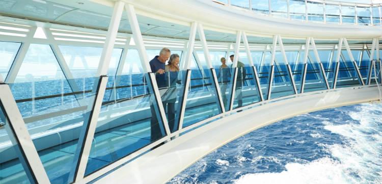 Seawalk Regal Princess cruise