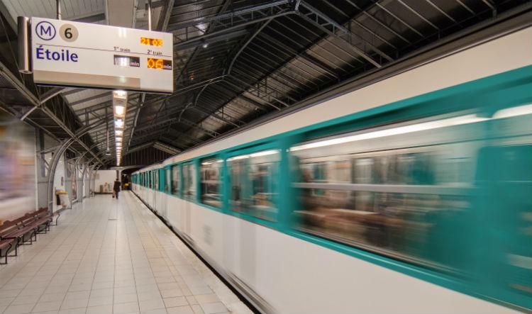 Paris subway system