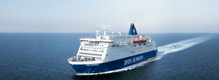 A DFDS Seaways Ferry