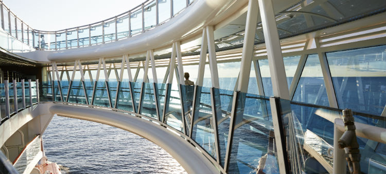 Princess Cruises seawalk innovation