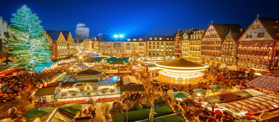 Christmas market shopping destination