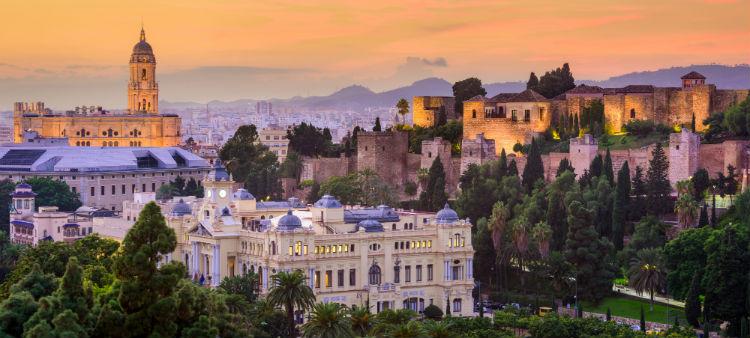 Malaga in the Costa Del Sol
