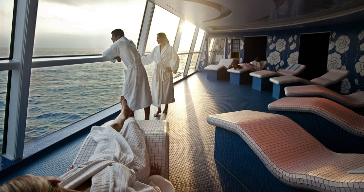 The Spa onboard Celebrity Constellation