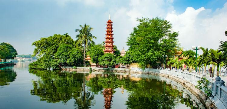 a Hanoi monument