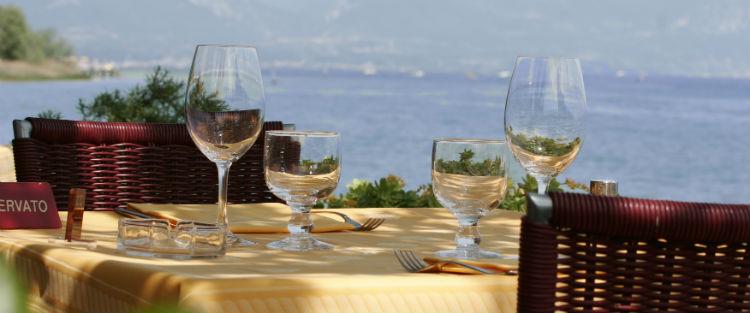Lake garda food