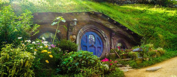 Hobbiton Movie Set, Matamata, New Zealand