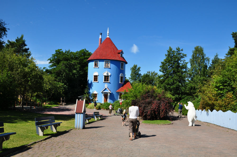 The Moomin house in Finland