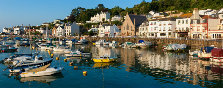 Village of Saint Aubin, Jersey, Channel Islands